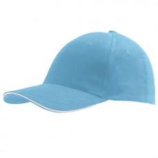 Cap Turquoise White