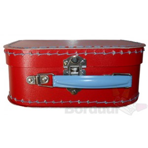 Koffer rood OPRUIMING