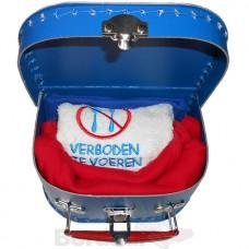 Kraamkoffer rood wit blauw OPRUIMING