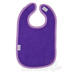 Slabber paars met bies lila