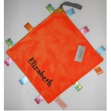 Labeldoekje speen oranje