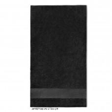 Sport grote handdoek donkergrijs