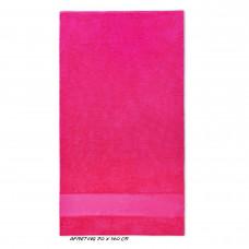 Sport grote handdoek fuchsia