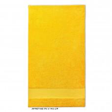 Sport grote handdoek geel