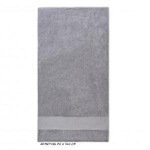 Sport grote handdoek grijs