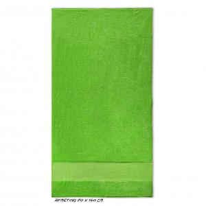 Sport grote handdoek groen