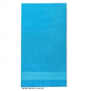 Sport grote handdoek turquoise