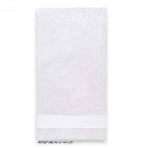 Sport grote handdoek wit
