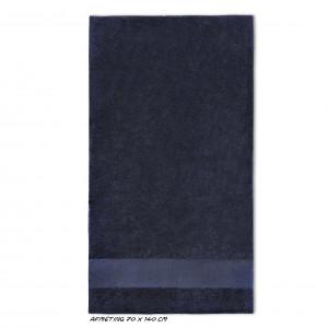 Sport grote handdoek zwart