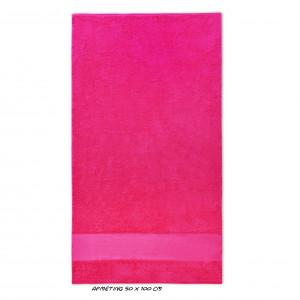 Sport kleine handdoek fuchsia