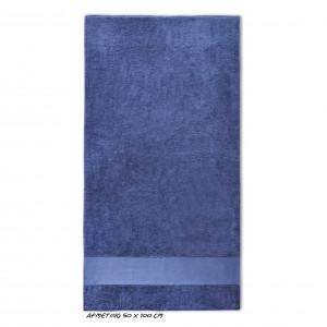 Sport kleine handdoek navy