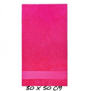 Sport mini Handdoek fuchsia