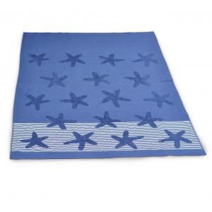 Strandhanddoek Blauw