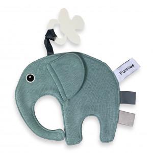 Speen olifant labeldoek Stonegreen