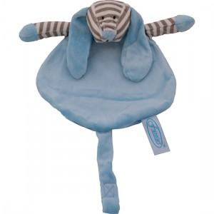 Tutdoek speen blauw