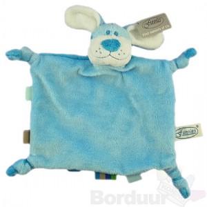 Tutpop hond blauw