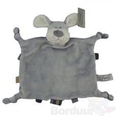 Tutpop hond grijs