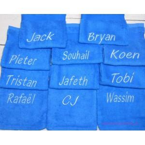 Washand cobalt blauw